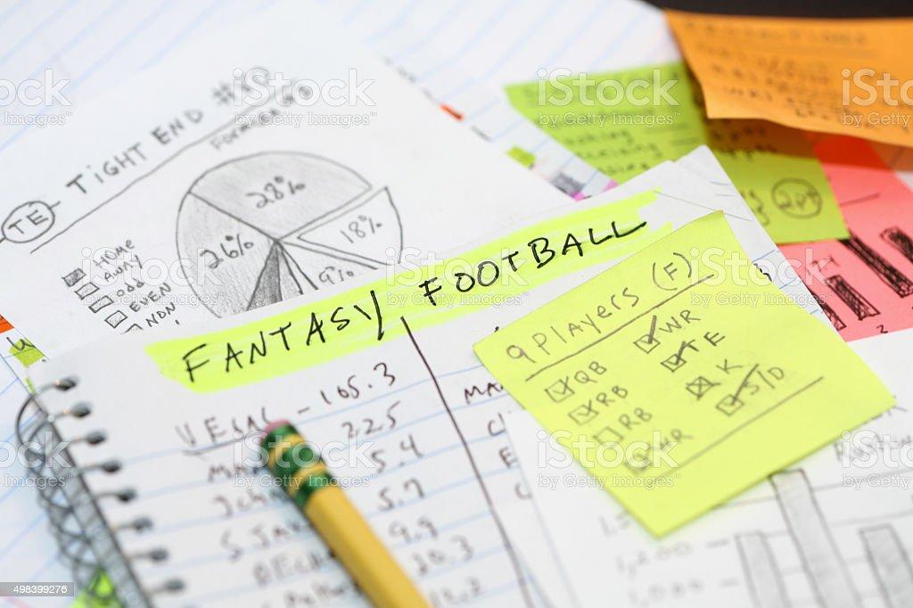 Daily Fantasy Football stock photo