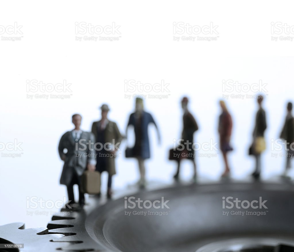 Daily Grind royalty-free stock photo