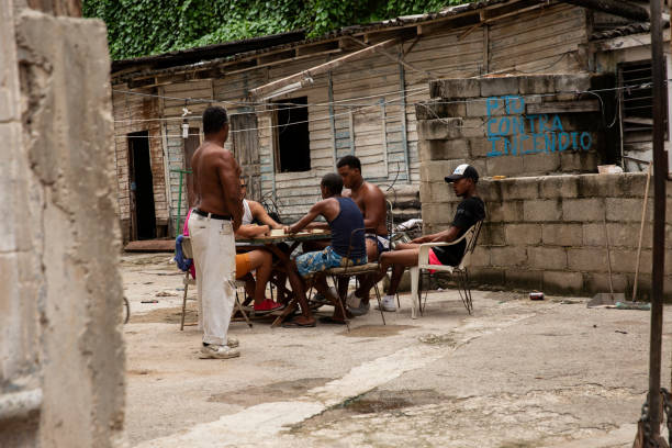 Daily Life in Cuba stock photo