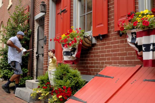 Daily Life in Philadelphia, PA stock photo
