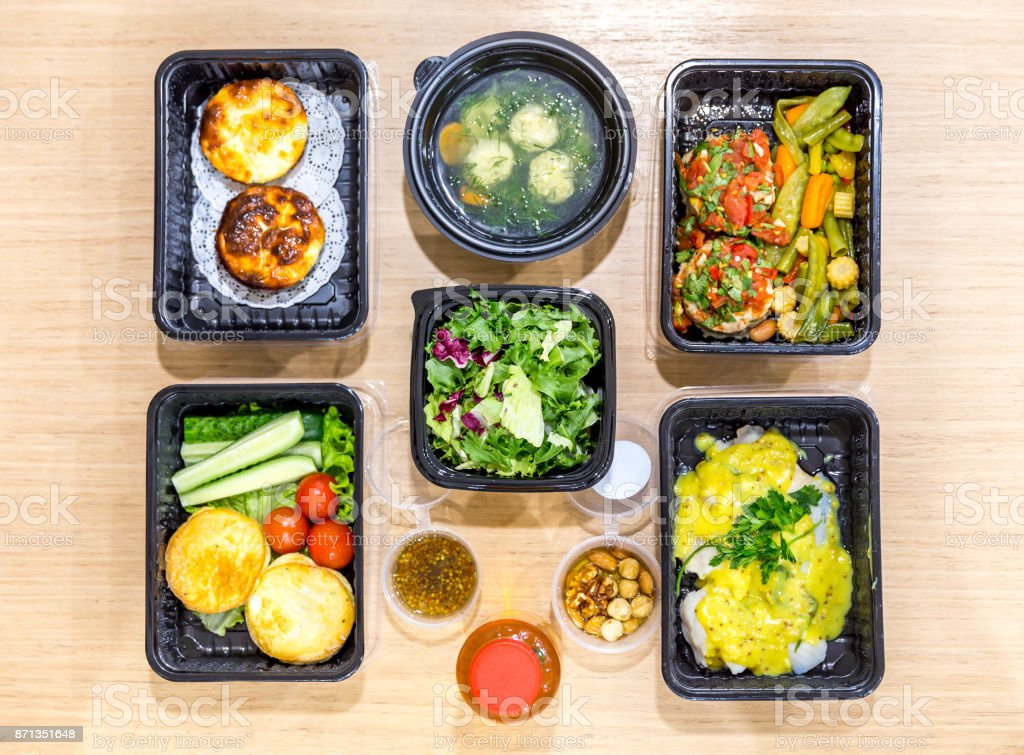 Daily Meals In Boxes Healthy Food Delivery Take Away Of Natural