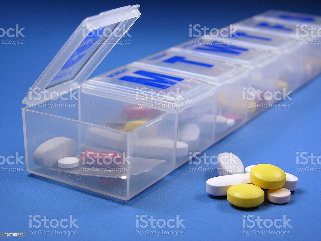 Daily medication royalty-free stock photo