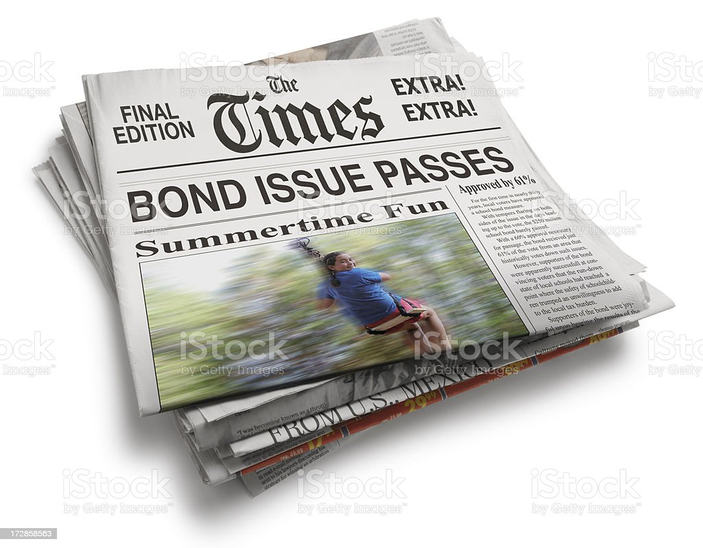 Daily Newspaper royalty-free stock photo
