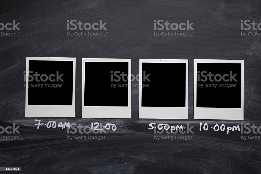Daily photo series stock photo