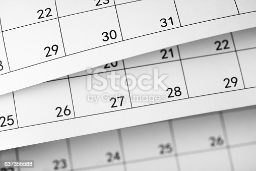 184357018 istock photo Daily plans 637355588