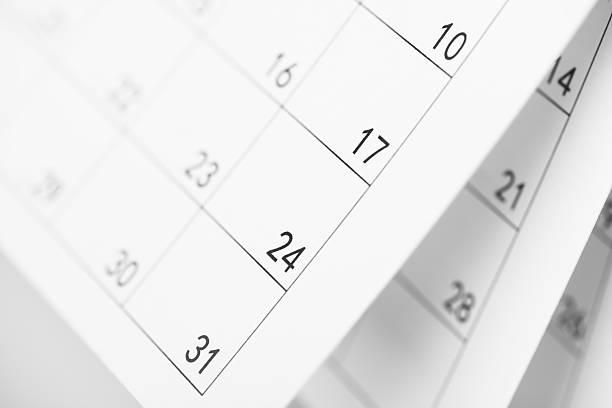 täglich pläne - kalender icon stock-fotos und bilder