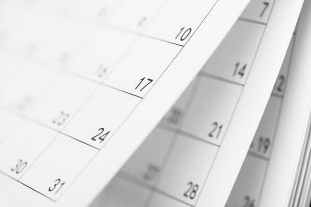 täglich pläne - chinesischer kalender stock-fotos und bilder
