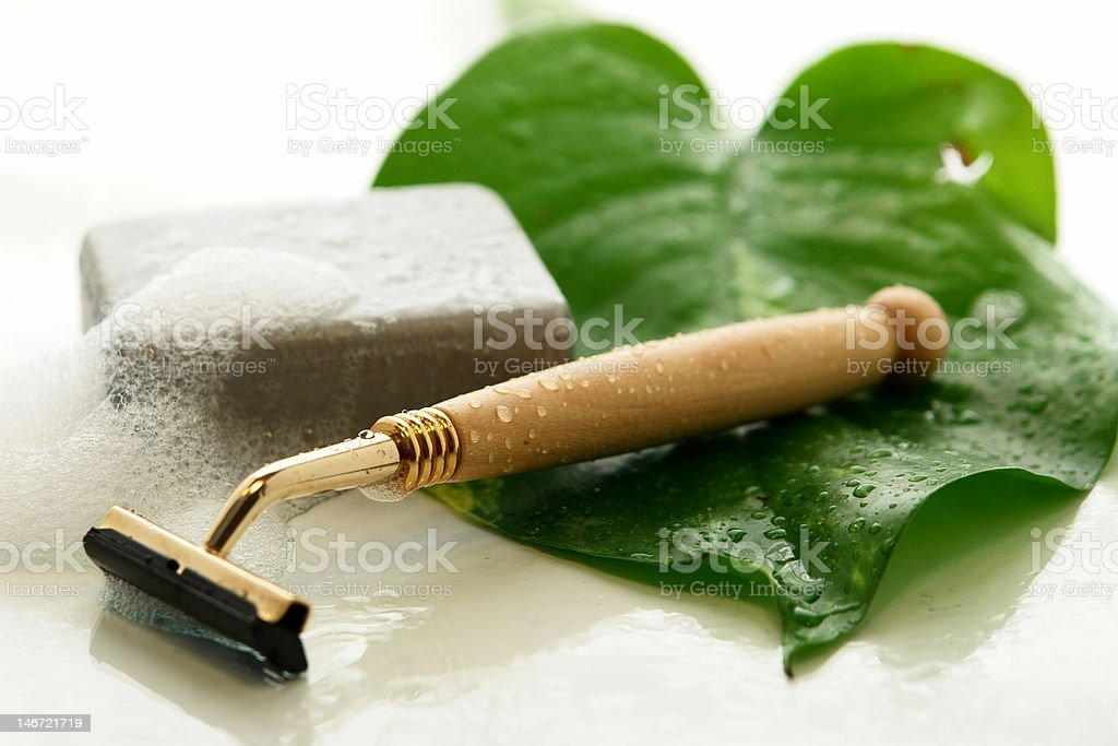daily shave tools royalty-free stock photo