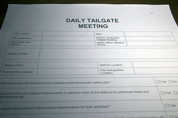 Royalty free toolbox meeting form pictures images and stock toolbox meeting form pictures images and stock photos pronofoot35fo Choice Image