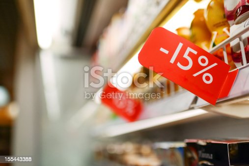 Dairy Discount in Grocery Store
