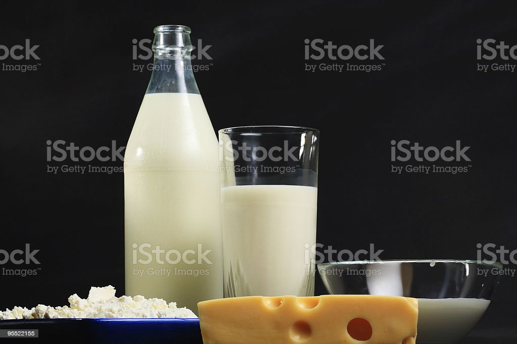 Dairy royalty-free stock photo