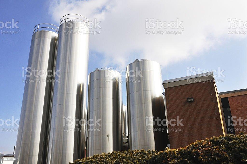 Dairy Plant stock photo