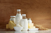 istock Dairy products concept 1149847802