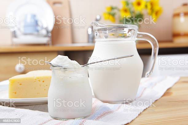 Dairy Products Stock Photo - Download Image Now