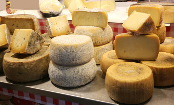 Molkerei, die Käsewürze verkauft – Foto
