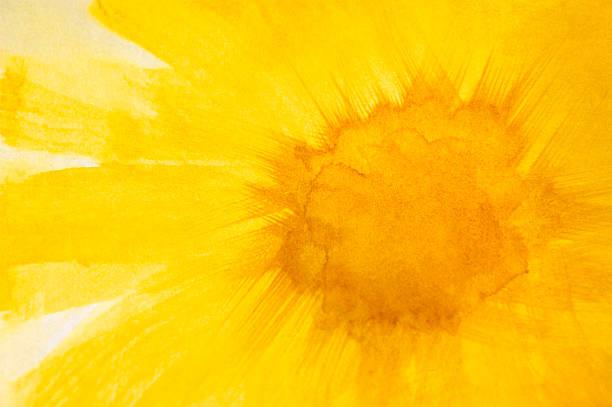 Daisy Aquarell abstrakt Hintergrund – Foto