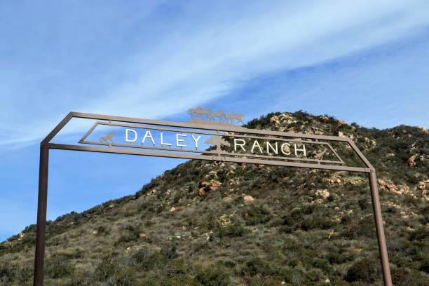 Daley Ranch Escondido stock photo