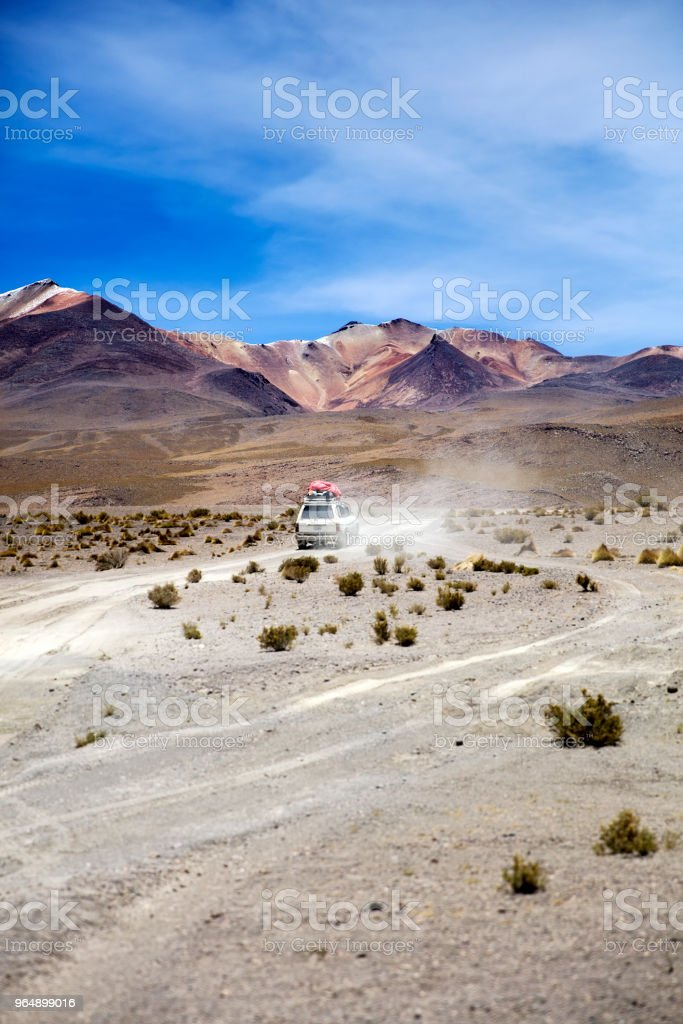 Dali Desert in Bolivia - Royalty-free Adventure Stock Photo