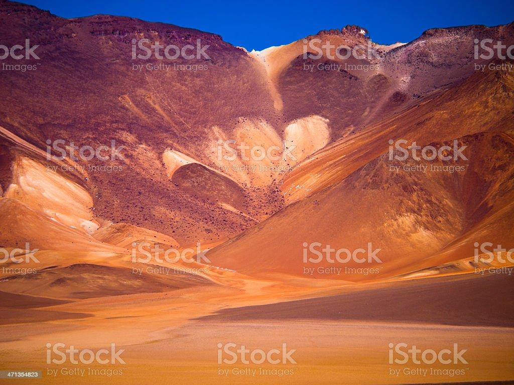 Dali desert stock photo