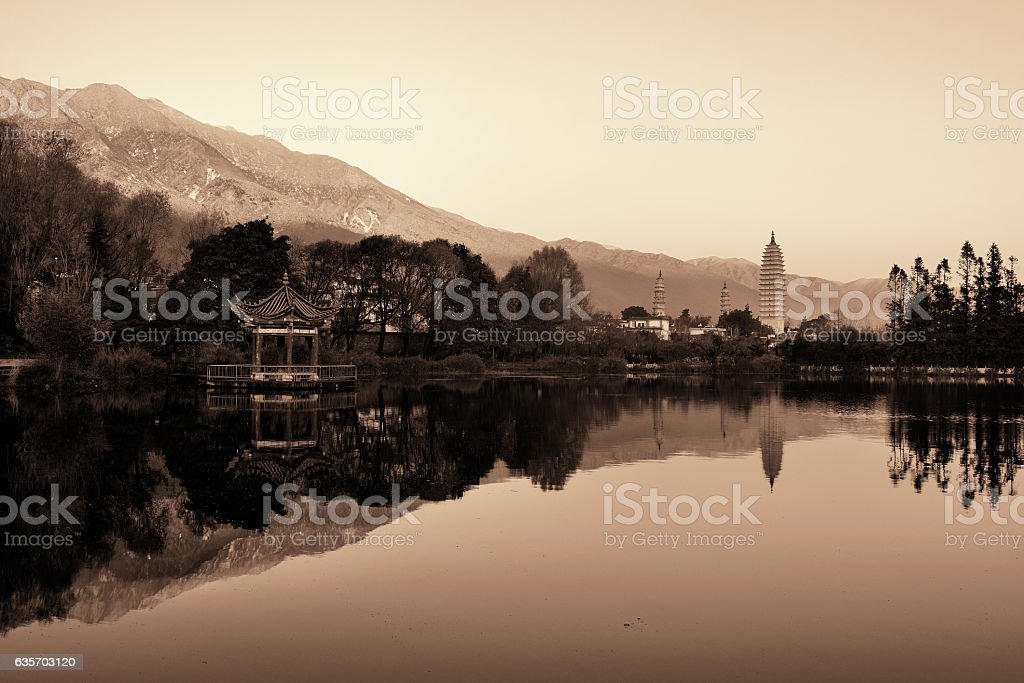 Dali Old Town royalty-free stock photo