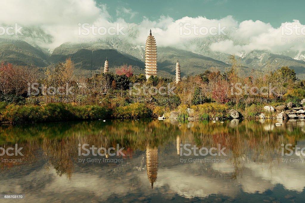 Dali pagoda royalty-free stock photo