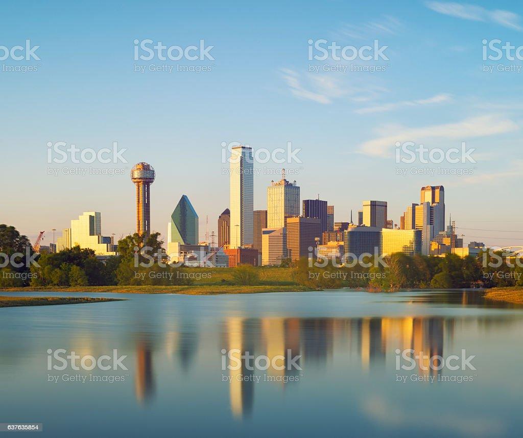 Dallas City, Texas, USA stock photo