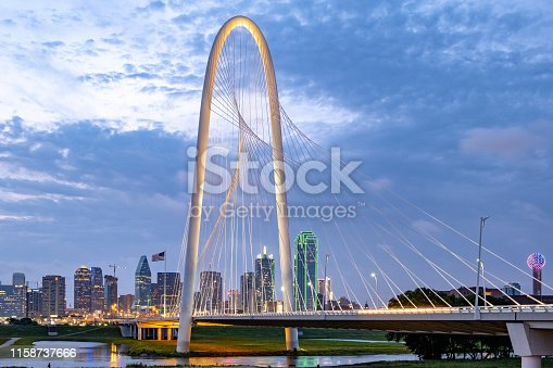 Dallas from Trinity river