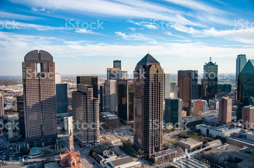 Dallas Aerial Skyline and Landscape Photography.