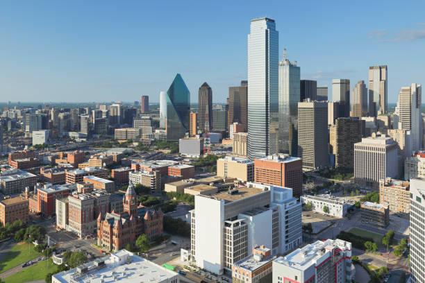 Dallas Skyline - Texas stock photo
