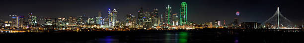 Dallas Texas at Night (panoramic)