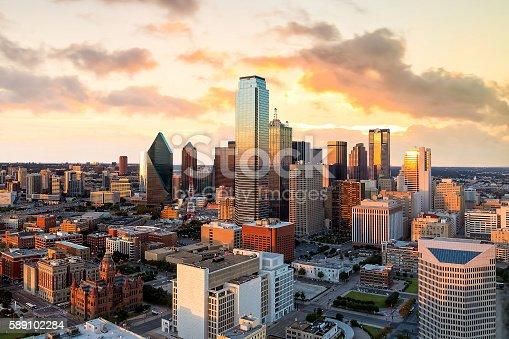istock Dallas, Texas cityscape 589102284