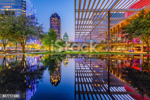 istock Dallas Texas Downtown 847717430
