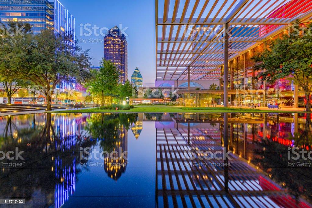 Dallas Texas Downtown stock photo