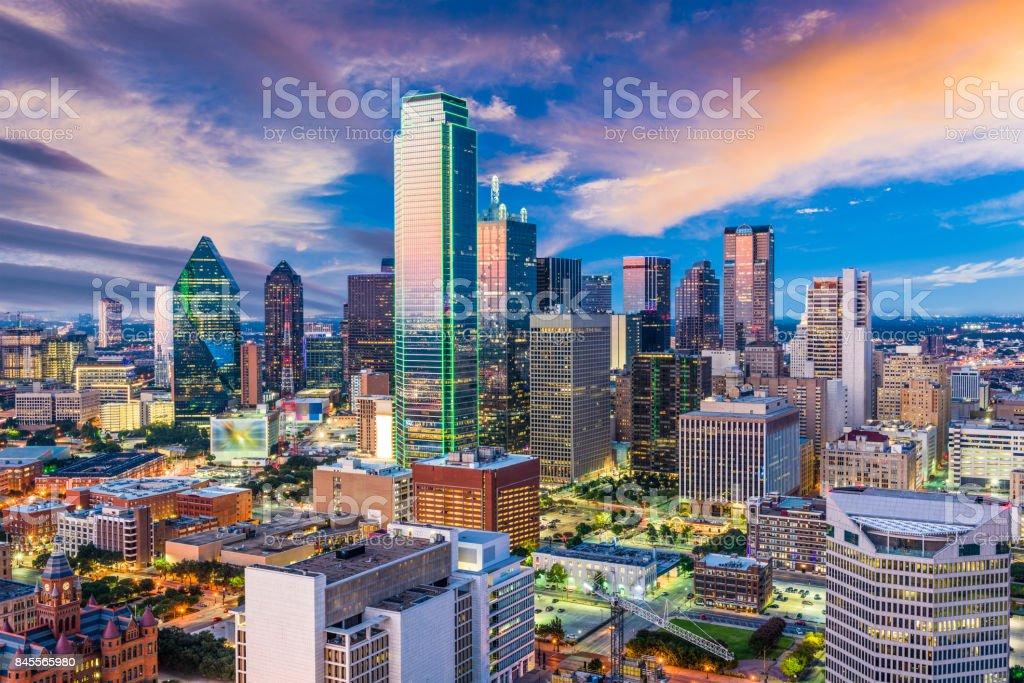 Dallas Texas Skyline royalty-free stock photo