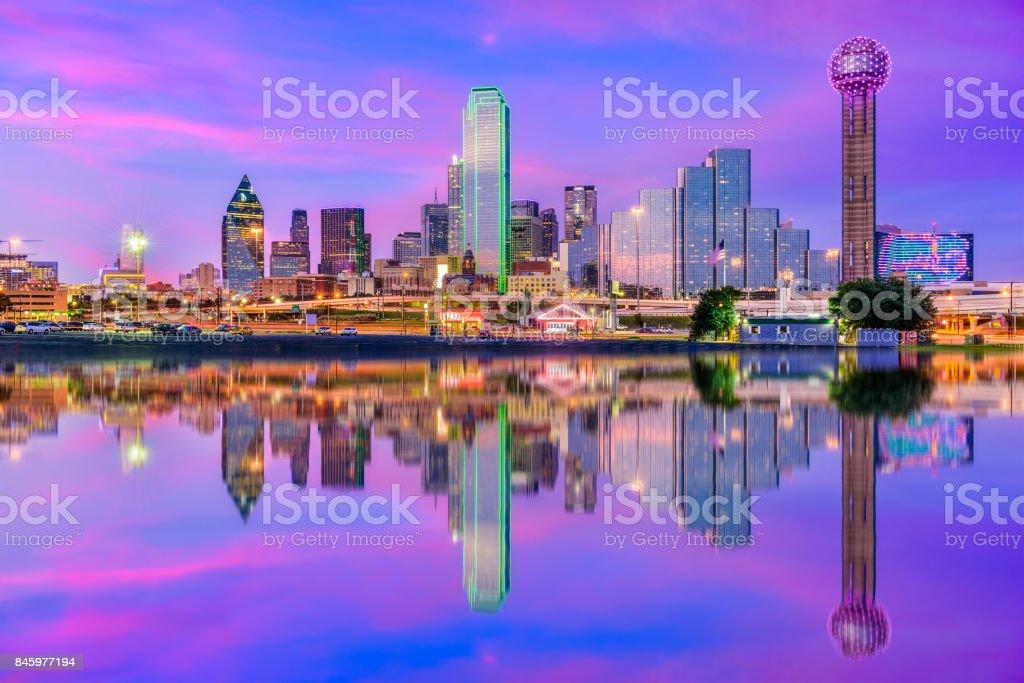 Dallas Texas USA stock photo