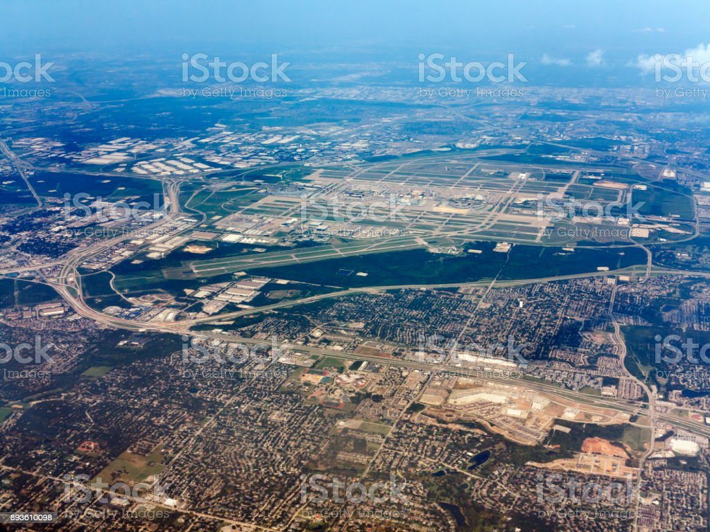 Dallas/Fort Worth airport, Texas, USA stock photo