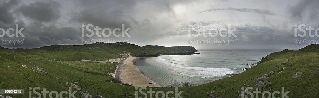 dalmore panorama royalty-free stock photo