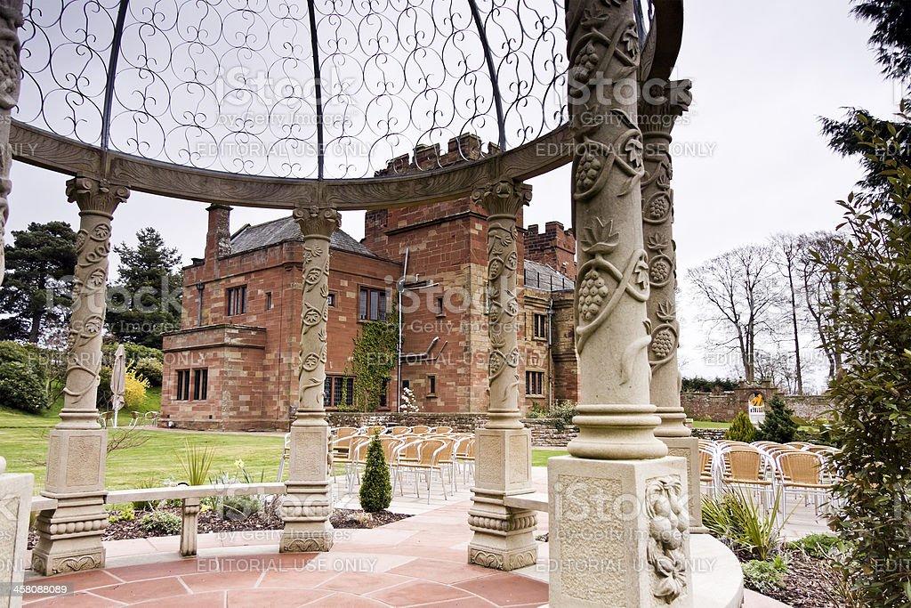 Dalston Hall Cumbria stock photo