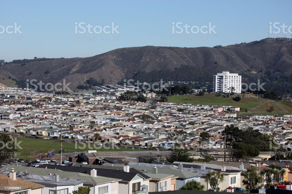 Daly City, Ca stock photo
