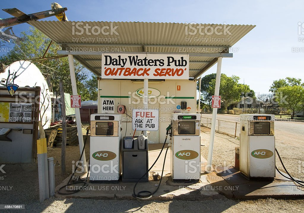 Daly Waters Pub stock photo