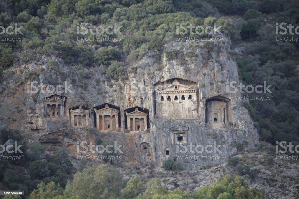 Dalyan - Royalty-free Anatolië Stockfoto