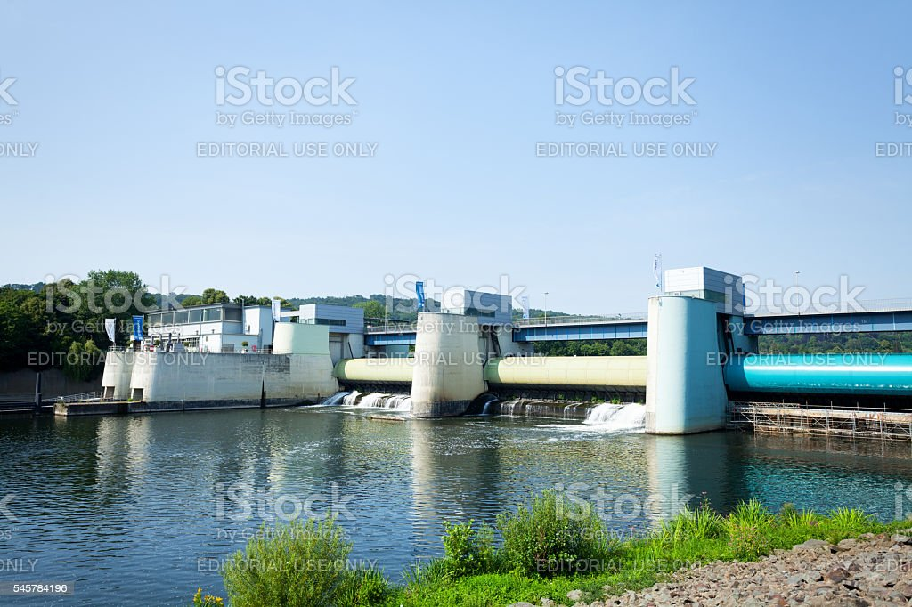 Staudamm am lake Baldeneysee – Foto