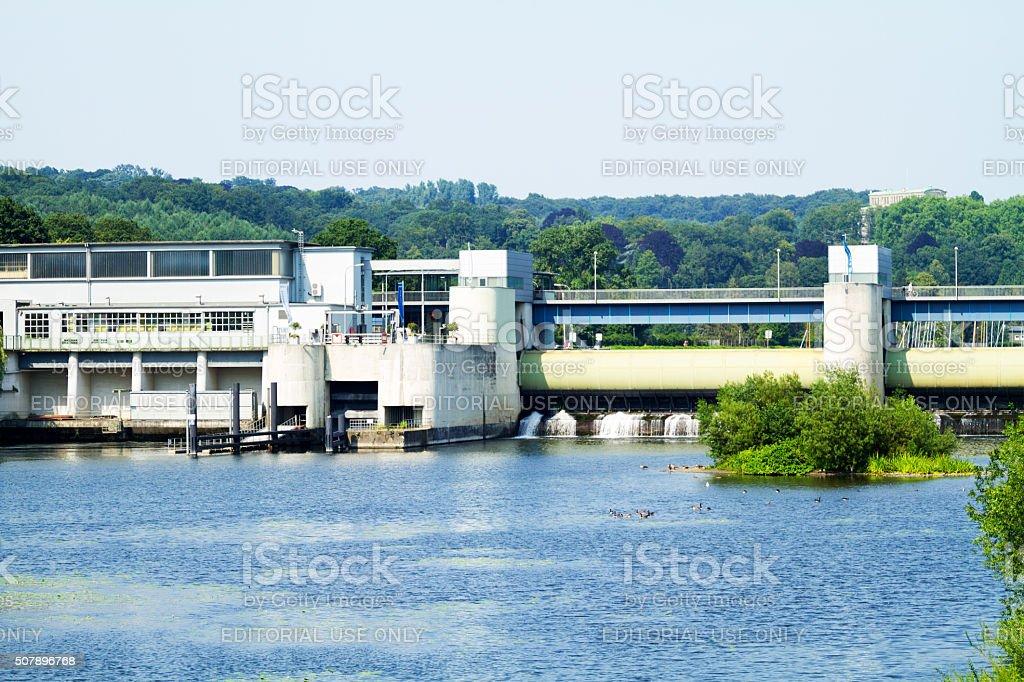 GaN und See Baldeneysee im Ruhrgebiet – Foto