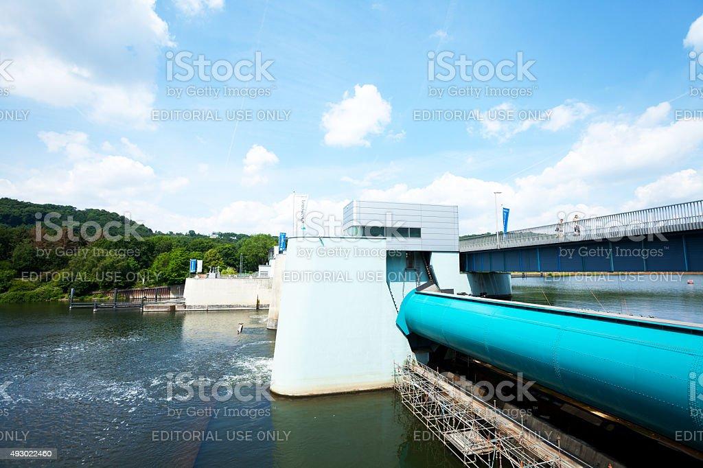 Dam Baldeneysee und Fluss Ruhr – Foto