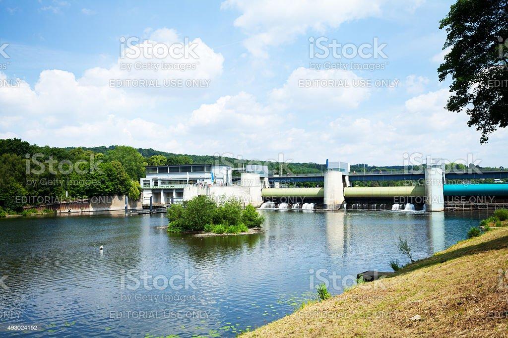 Dam-Baldeneysee in Essen Werden – Foto