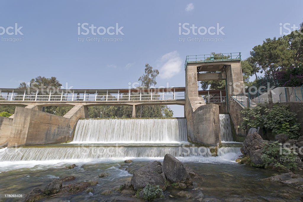 Dam royalty-free stock photo