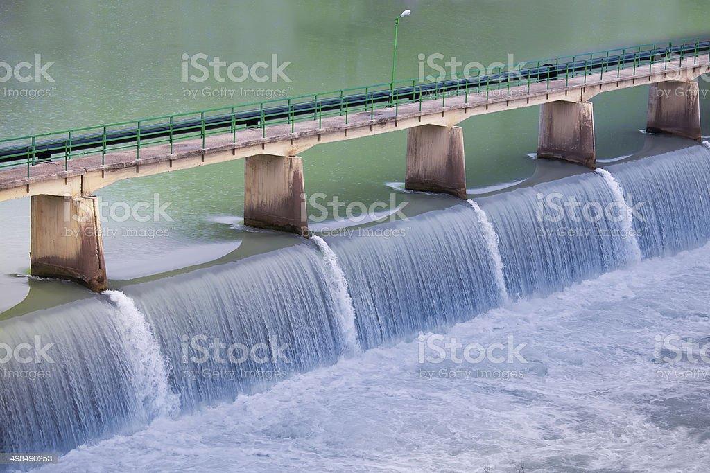 Dam stock photo
