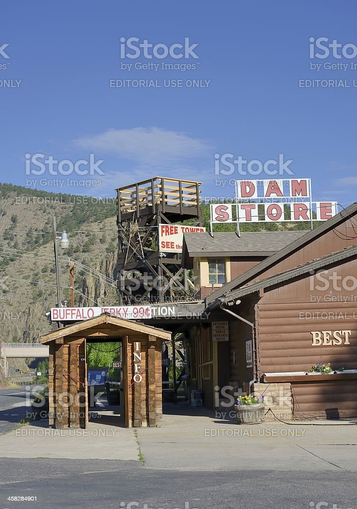 Dam Store, Loveland stock photo