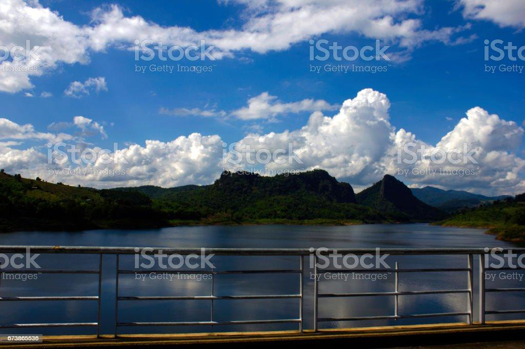 Suai chiang rai Tayland Barajı royalty-free stock photo