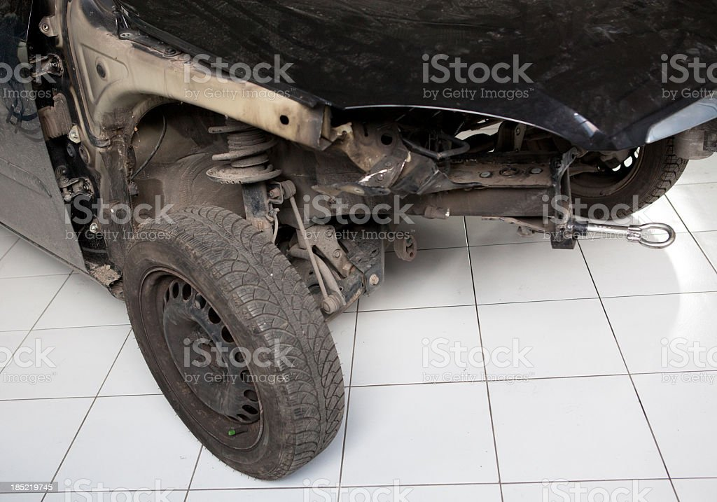 Damaged Car royalty-free stock photo